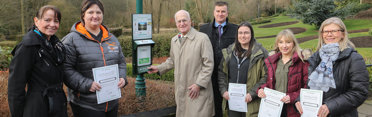 Albavet Fife team up with Fife Council to help reduce dog poop waste